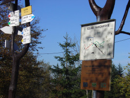 Hiking and cycling trails in the Beskids